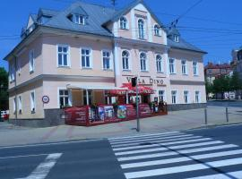 Villa Dino, отель в городе Марианске-Лазне