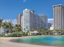 Waikiki Marina Resort at the Ilikai, отель в Гонолулу