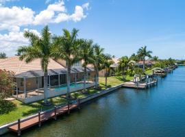 Waterfront Villa SW Cape ID4012, Ferienunterkunft in Cape Coral