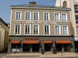Hotel de la Gare Troyes Centre, отель в Труа