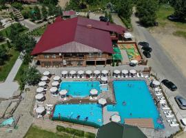 Chorna Skelya, отель в Виноградове