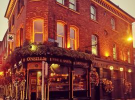 O'Neills Victorian Pub & Townhouse, smeštaj u okviru domaćinstva u Dablinu