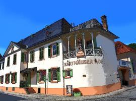 Hotel Karthäuser Hof, hotel in Flörsheim
