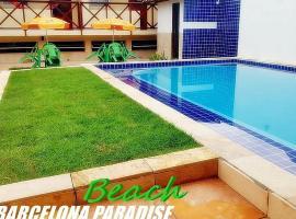 Barcelona Beach Residence, guest house in Canoa Quebrada