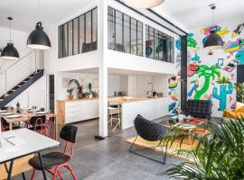 Outstanding Artist Loft - Between Marais and Canal, accessible hotel in Paris