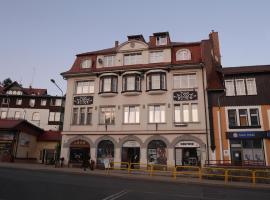 Apartamenty pod Jedynka - Jednosci Narodowej 3/1 – hotel w pobliżu miejsca Kolejka Izerska w Szklarskiej Porębie