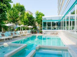 Aqua Hotel, отель в Римини