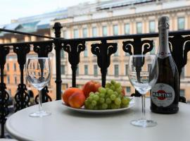 Nevsky Lounge Apartments, appartamento a San Pietroburgo