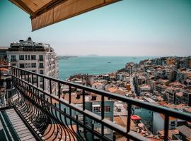 Juno Hotel Taksim, viešbutis Stambule, netoliese – Dolmabahce Clock Tower