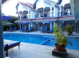 Chateau Sans Souci, hotel in Grand'Anse Praslin