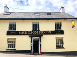 The Red Lion Hotel, hótel í Oakford