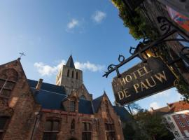 Hotel de Pauw, hotel near Guido Gezelle Museum, Bruges