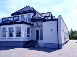 Gościniec 16-TKA, family hotel in Kościerzyna