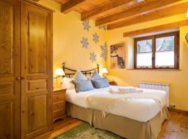Luderna - Apartamento con jardín Pleta de Arties Montardo, hotel en Arties
