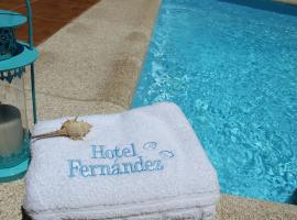 Hotel Fernandez, hotel cerca de Playa de Silgar, Sanxenxo