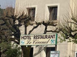 LE CEVENOL, hôtel à Alzon
