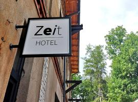 Zeit Hotel, hotel in Līgatne