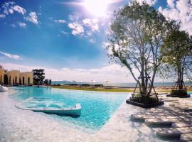 3BR Seaview/HighFloor/Veranda Residence Pattaya ที่พักให้เช่าในหาดจอมเทียน