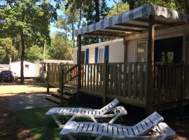 mobil-home 6/8 personnes, camping 4 étoiles, campground in Saint-Brevin-les-Pins