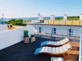 Apartamenty Piaskowe B21 z tarasem na dachu – hotel w Rowach