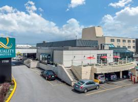 Quality Hotel Dorval, hotel near Montreal-Pierre Elliott Trudeau International Airport - YUL, Dorval