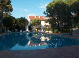 Parco Hemingway, hotel v Lignanu Sabbiadoru