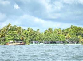 Illikkalam Lakeside Cottages, accessible hotel in Kumarakom