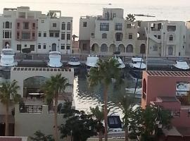 Sea View Apartment at Tala Bay Resort in Aqaba, accessible hotel in Aqaba