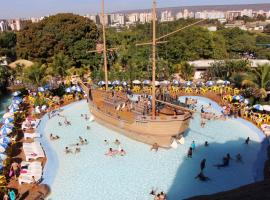 Piazza Diroma Ev, hotel em Caldas Novas