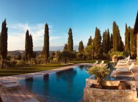 Villa Barberino, country house in Meleto