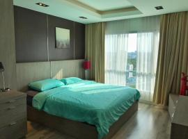 Silom-Sathorn/2Bedroom/ City center/ City view, apartment in Bangkok