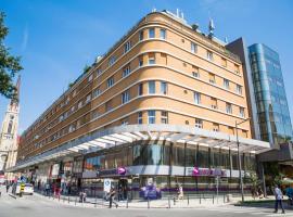 Hotel Putnik, отель в Нови-Саде