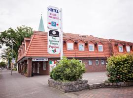 Hotel Heideparadies, hotel in Soltau