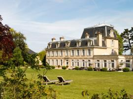 Chateau La Cheneviere, hotel near Bayeux's Train Station, Port-en-Bessin-Huppain