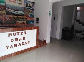Hotel Owae Paracas, hotel near Paracas Reserve, Paracas