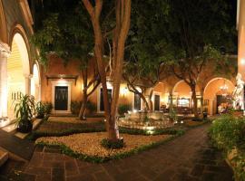 Hotel Boutique La Mision De Fray Diego, hotel in Mérida