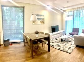 Dubulti Luxury Terrace in Dunes, apartment in Jūrmala