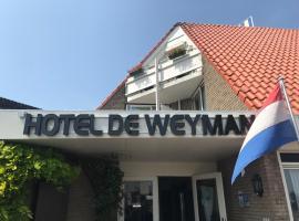 Hotel De Weyman, hotel dicht bij: station Zandvoort, Santpoort-Noord