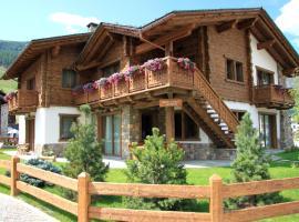Mont Chalet Apartaments, hotel poblíž významného místa Valandrea-Vetta, Livigno