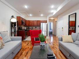 Ideal for families, Sleeps 8 - 15 min from NYC!, apartment in Jersey City