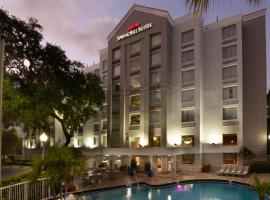 SpringHill Suites Fort Lauderdale Airport, hotel near Jungle Queen Riverboat, Dania Beach
