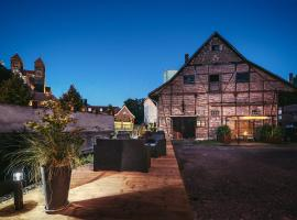 Ferienwohnungen an der Wassermühle, Hotel in Quedlinburg