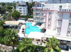 Lara World Hotel, hotel near Antalya Airport - AYT, Antalya