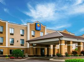 Comfort Inn Plainfield, hotel near Indianapolis International Airport - IND, Plainfield