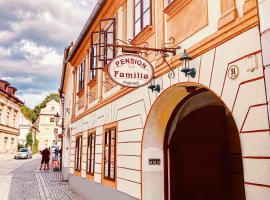 Familia, hotel in Český Krumlov