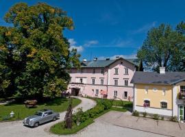 Schlosshotel Zamek Zdikov, hotel ve Zdíkově