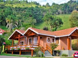 Chalés Fazenda Vale da Mata, hotel em Monte Verde