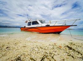 Day Trip Labuan Bajo, boat in Denpasar