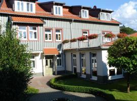 Hotel Johannishof, hotel a Wernigerode