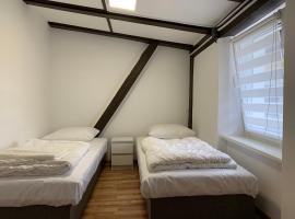 Małe mieszkanie na poddaszu w centrum, apartment in Mrągowo